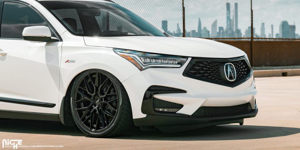 get mean with this acura rdx riding on niche wheels