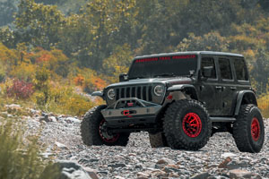 Jeep Wrangler Fuel Covert Beadlock - D113 Wheels