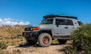 Toyota FJ Cruiser Fuel Zephyr - D632 Rims