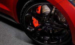 Ford Mustang GT Foose wheels