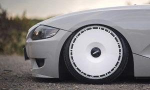BMW Z4 with Rotiform LAS-R wheels