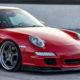 Porsche 911 with Rotiform KLU wheels