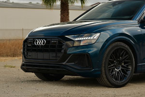 Audi Q8 with Rotiform JDR Wheels