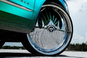 Chevrolet Impala with DUB S611-Vape Wheels