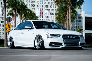 Audi S4 with Rotiform ROC rims
