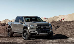 Ford F-150 Raptor Fuel Rage - D711 Rims