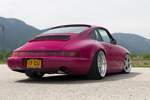 964 Porsche 911 Carrera with Rotiform STR wheels