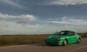 964 Porsche 911 Carrera with Rotiform TMB rims