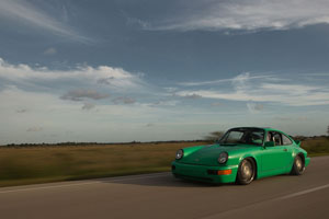 964 Porsche 911 Carrera with Rotiform TMB rims