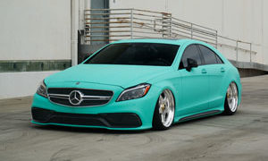 Mercedes-Benz CLS63 AMG with Rotiform WRO Wheels