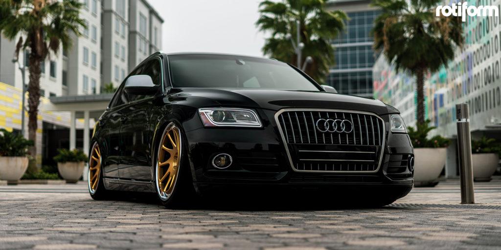 Audi Q5 Rotiform OZT wheels
