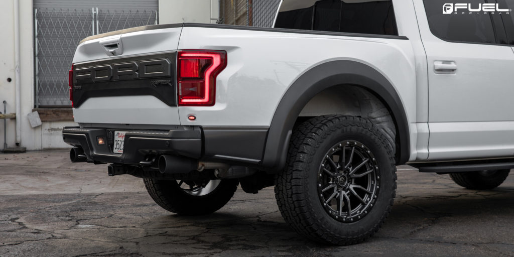 Ford F-150 Raptor Fuel Rebel 6 - D680 Wheels