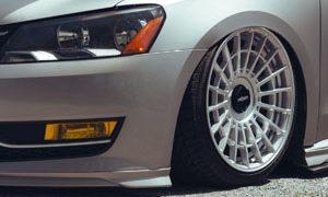 Volkswagen Passat with LAS-R wheels
