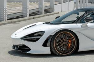 McLaren 720S with Rotiform LVS-M Wheels