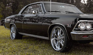 Chevrolet Chevelle SS with US Mags Bullet – U131 Wheels