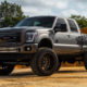 Ford F-250 Super Duty with Fuel Sledge – D631 Wheels