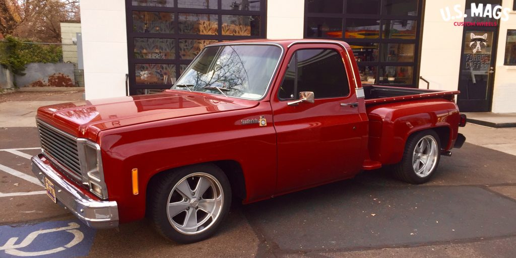 Chevrolet C10 Scottsdale with US Mags Roadster – U120 Wheels