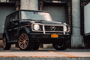 Mercedes-Benz G550 with Mazzanti - M263 Wheels
