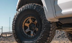 Ford F-150 with Fuel Black – D750 Wheels