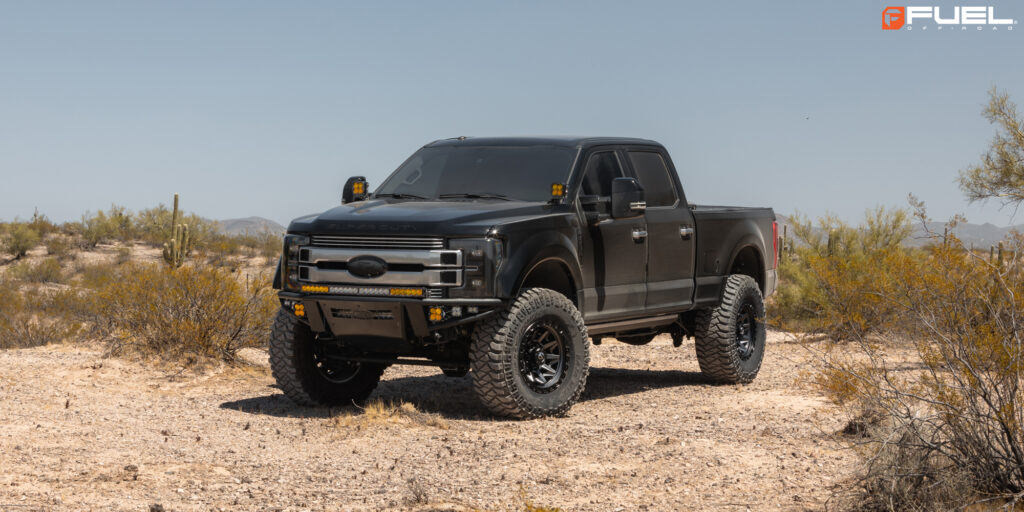 Ford F-250 Super Duty with Fuel Covert - D716 Wheels