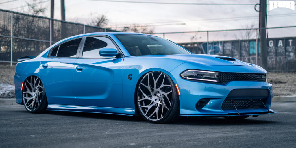 Dodge Charger with DUB GOAT - S260 Wheels