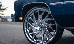 Chevrolet Impala Coupe DUB GOAT - S258 Wheels