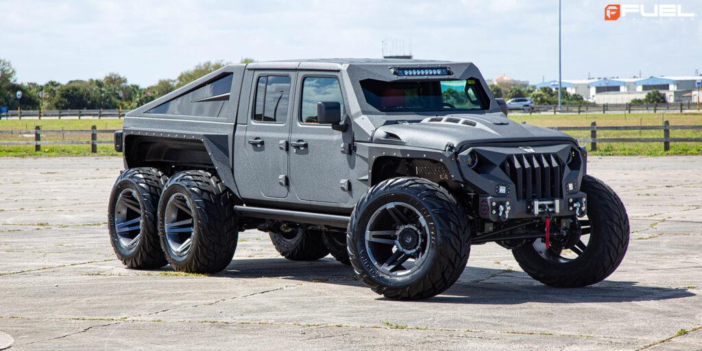 Jeep Gladiator Apocalypse G 6x6 with Fuel SFJ -D764 Rims
