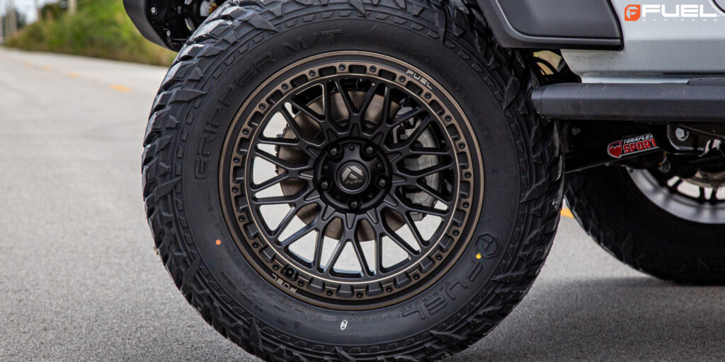 Jeep Wrangler Sport Unlimited with Fuel Trigger - D759 Wheels