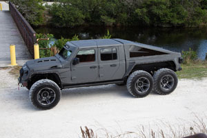 Jeep Gladiator Apocalypse G 6x6 with Fuel SFJ -D764 Rims