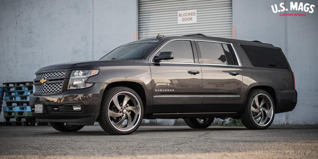 Chevrolet Suburban US Mags Desperado 6 - U133 Wheels