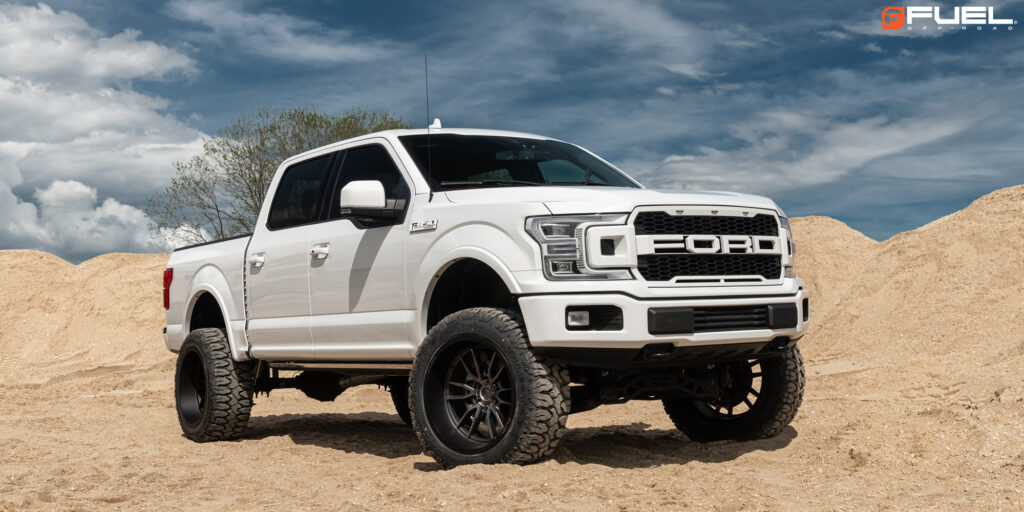 Ford F-150 Lariat with Fuel Clash 6 – D762 Wheels