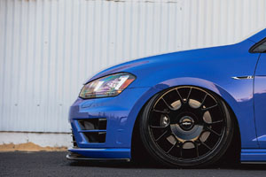 Volkswagen Golf R with TUF-R Wheels and Nitto Invo Tires