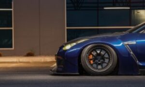 R35 Nissan GT-R with Rotiform SNA Wheels and Toyo Proxes Tires