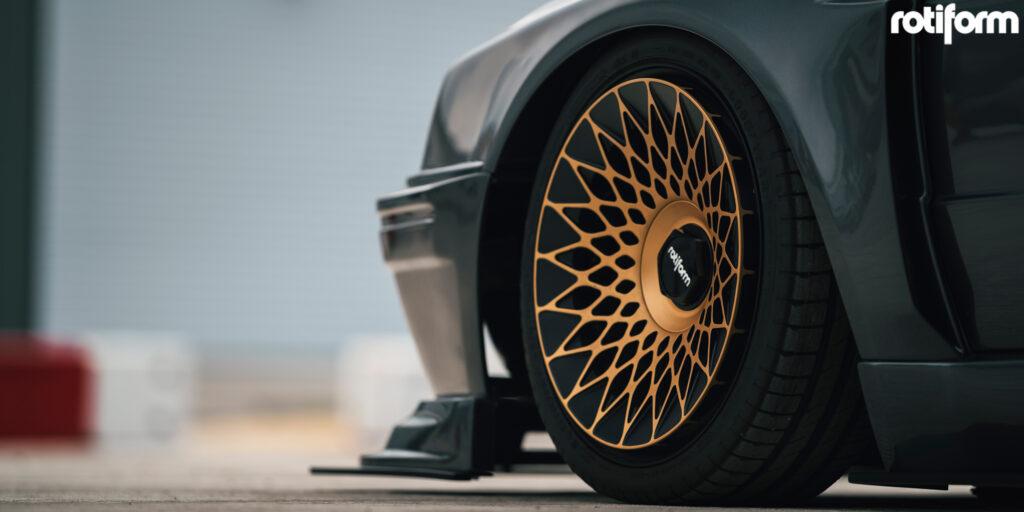 MKII Volkswagen Golf GTI Thunderbunny with Rotiform LHR-F Wheels