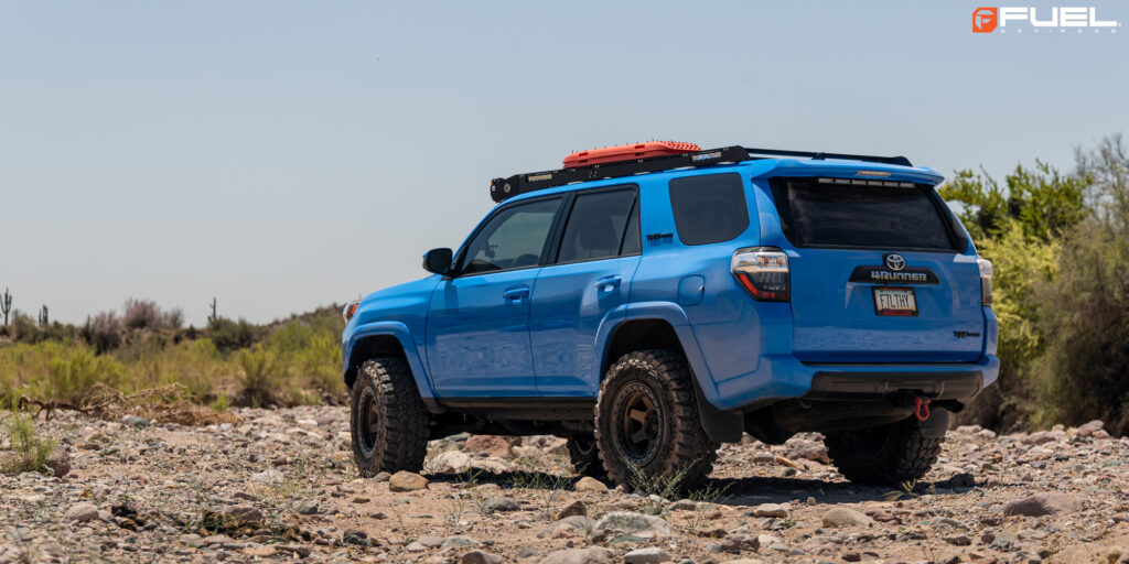 Toyota 4Runner TRD Pro with Fuel Block Beadlock - D122 rims