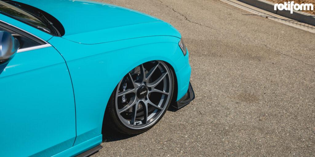 B8 Audi S4 with Rotiform LTN Rims