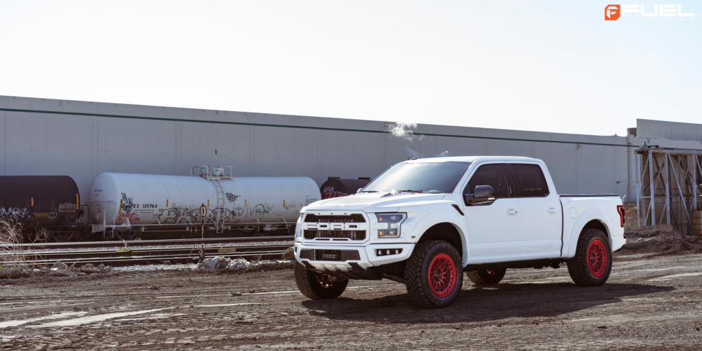 Ford F-150 Raptor with Fuel Trigger – D758 wheels