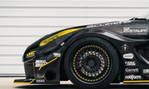 R35 Nissan GT-R with Rotiform LHR Wheels