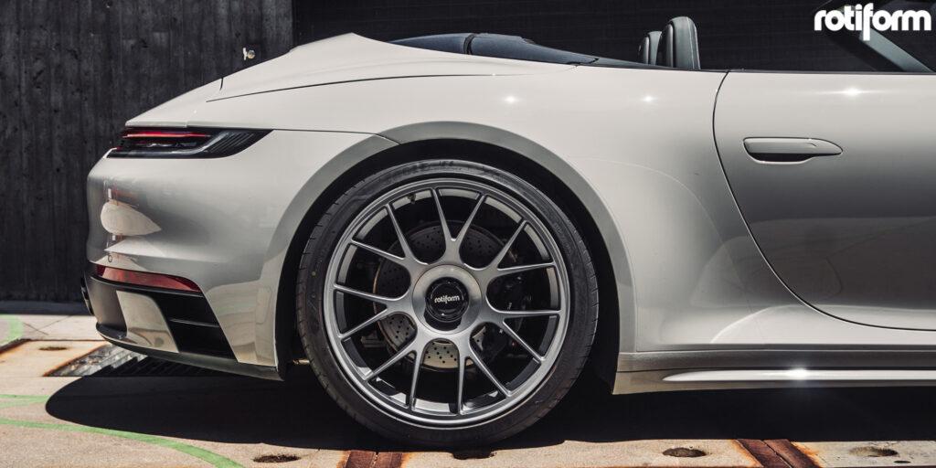 992 Porsche 911 Carrera S Cabriolet with Rotiform TUF wheels
