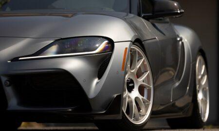 J29 Toyota Supra with Rotiform TUF wheels and Falken Azenis Tires