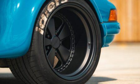 Porsche 911 with Rotiform FUC wheels