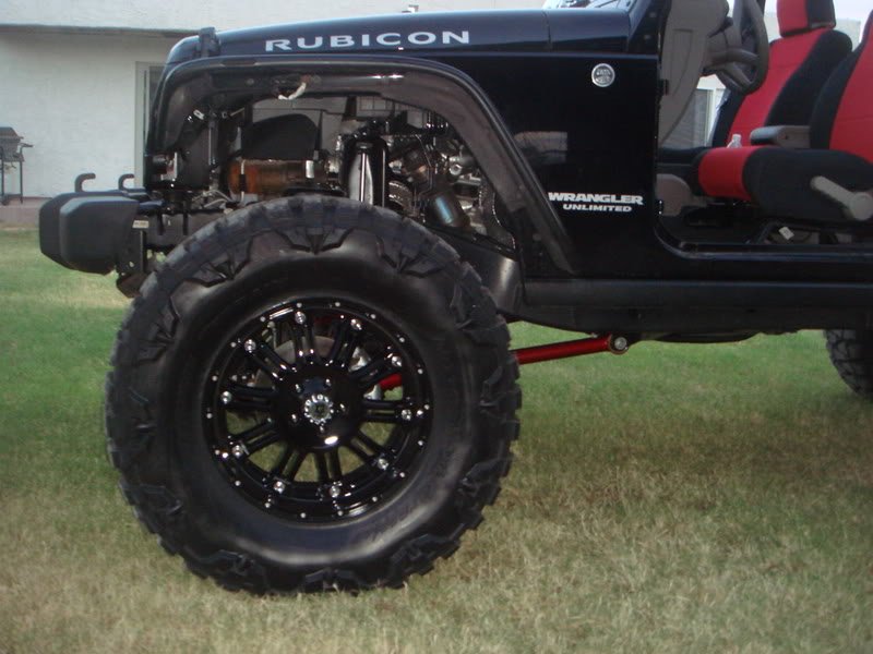 jeep wrangler unlimited w xd hoss wheels and nitto mud grappler tires. Black Bedroom Furniture Sets. Home Design Ideas