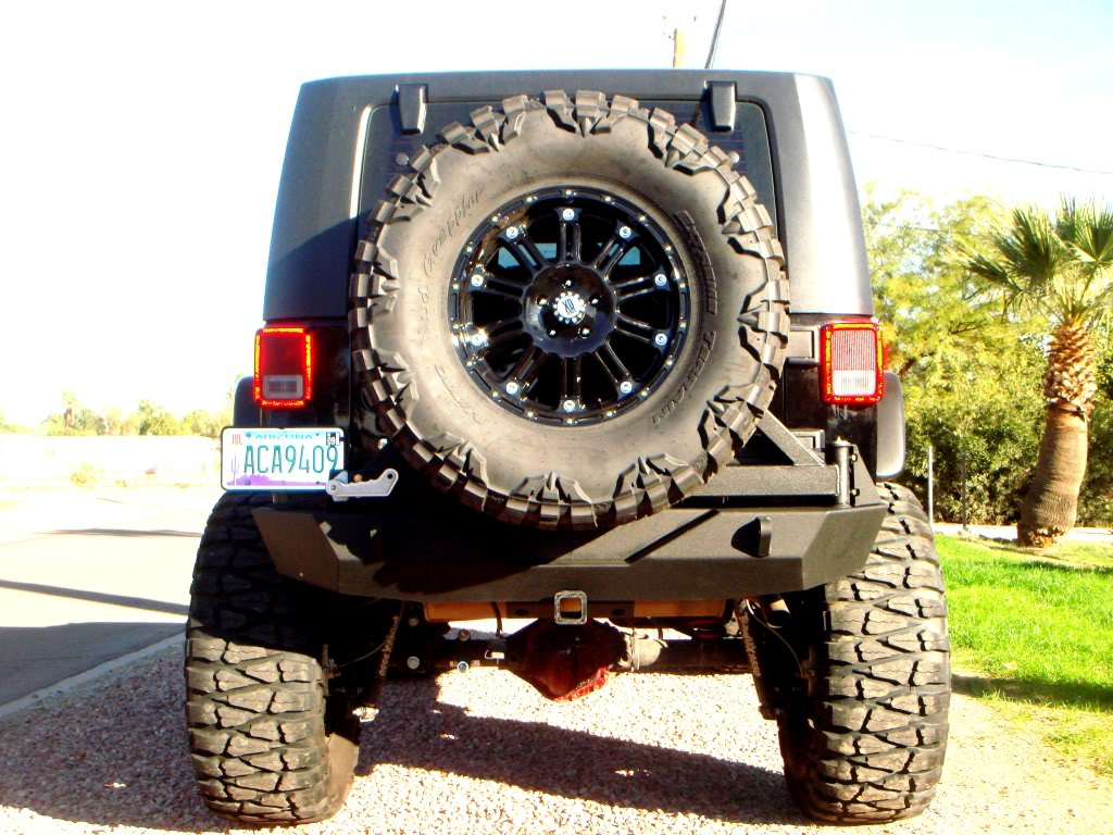 Jeep Wrangler Unlimited W Xd Hoss Wheels And Nitto Mud