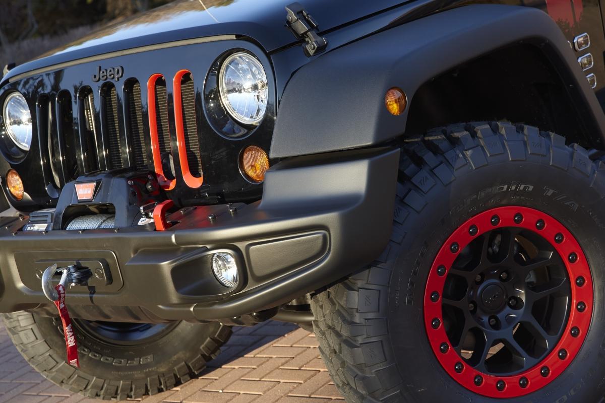 Jeep Wrangler Beadlock Wheels