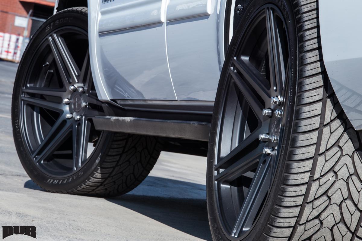 This Chevy Tahoe With Dub Wheels Has All The Skills Wheelhero