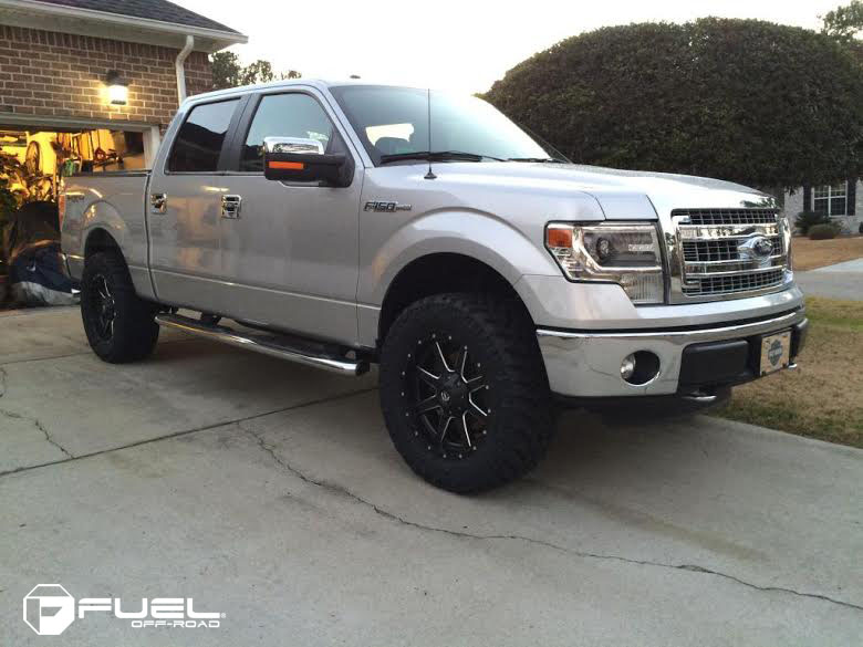 ford f 150 with wheels and tires autos post