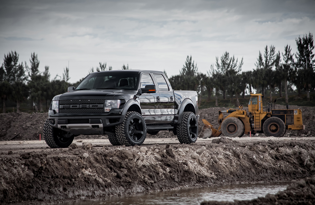 This Ford Svt Raptor With Off Road Xd Wheels And Tires Is