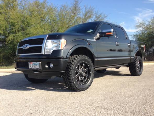 Get Lifted With This Ford F150 And Its New Fuel Wheels