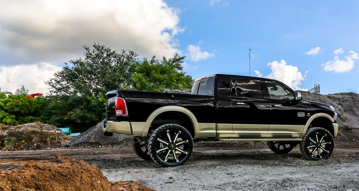 F150 Chrome Rims >> Show Your Horns with this RAM on TUFF Wheels! - WheelHero