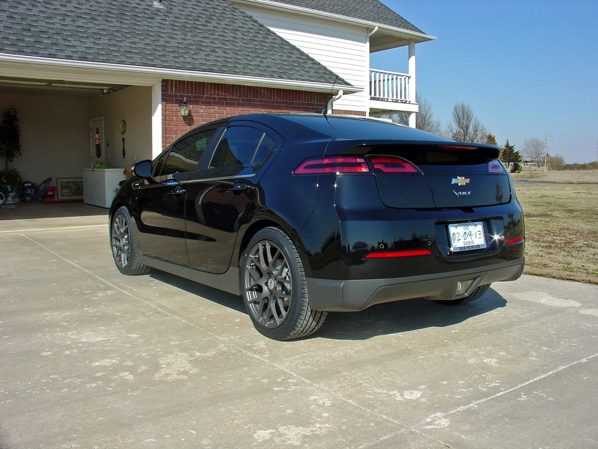 Chevy Volt Aftermarket Wheels >> Go Hybrid with this Chevy Volt wearing TSW Wheels